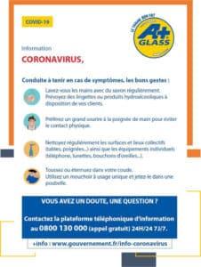 Coronavirus, comment agir en cas de symptômes ?