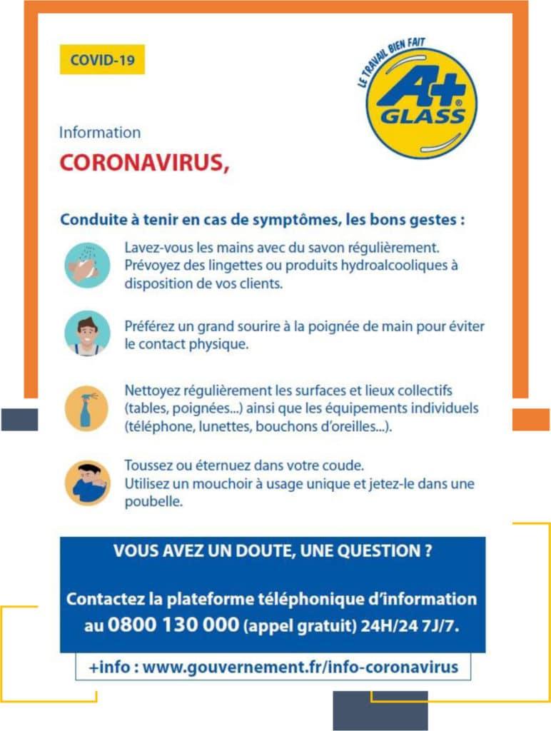 Coronavirus, conduite à tenir en cas de symptôme
